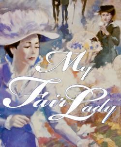 my fair lady poster summer theatre of new canaan