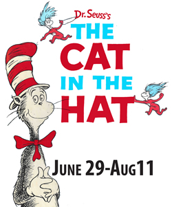 cat in the hat poster summer theatre of new canaan