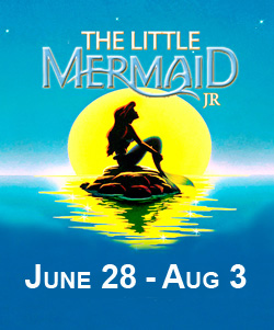 little mermaid poster summer theatre of new canaan2014