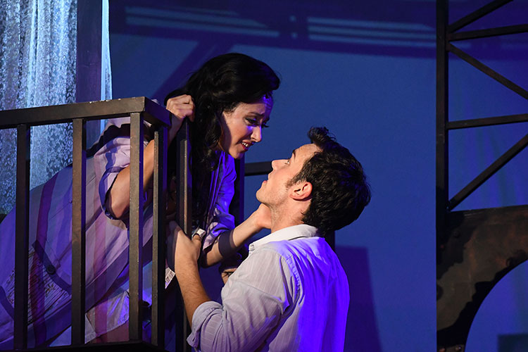 West Side Story Balcony Scene Summer Theatre of New Canaan
