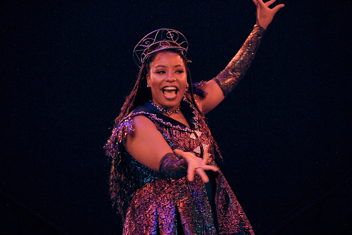 Leading Player Melissa Victor in PIPPIN
